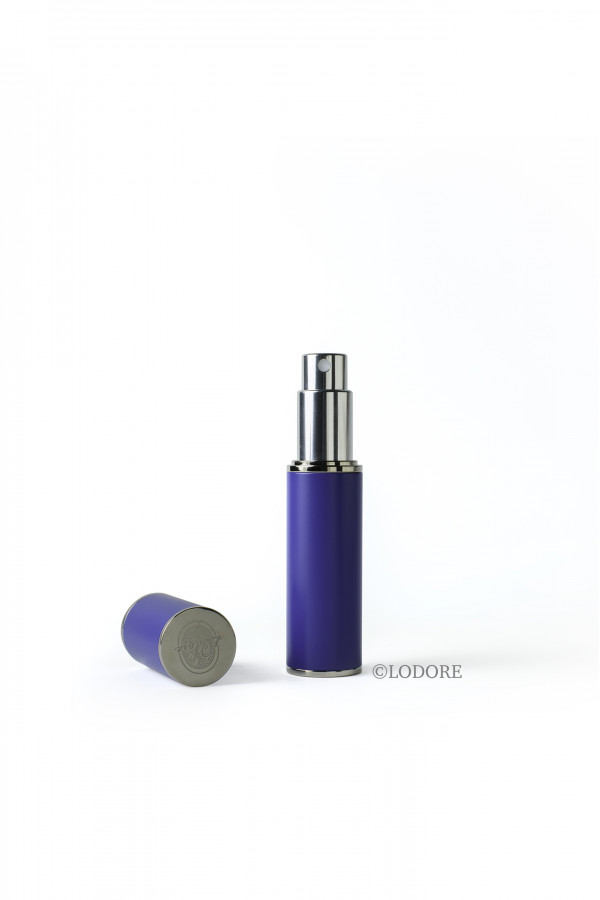 بخاخ الحقيبة - لون الطلاء أزرق مع محفظة المرذاذ وقمع للتعبئة