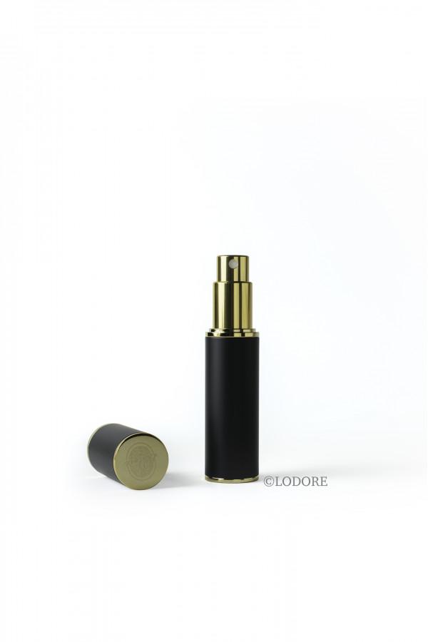 بخاخ الحقيبة - لون الطلاء أسود مع محفظة المرذاذ وقمع للتعبئة